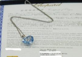 ショパール ソーハッピー3Pダイヤ ネックレス