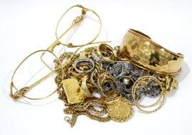 【金の買取】 貴金属 リング、ネックレス、ブレスなど