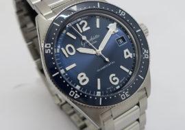グラスヒュッテオリジナル SeaQ ガルバニックブルー 1-39-11-09-81-70