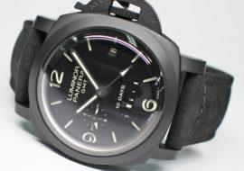 パネライ ルミノール 1950 GMT 10デイズ チェラミカ PAM00335 U番 セラミック/レザー