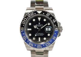 ロレックス GMTマスター2 116710BLNR 青黒ベゼル 未使用品