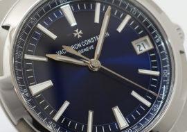 ヴァシュロンコンスタンタン オーヴァーシーズ ブルー 4500V 新品