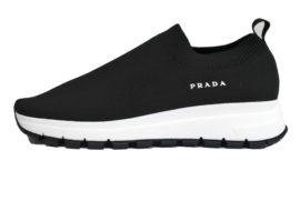 プラダ ソックススニーカー 1S716L ブラック サイズ36