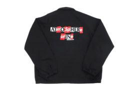 シュプリーム ジャケット ANTIHERO SNAP FRONT TWILL JACKET ブラック Mサイズ